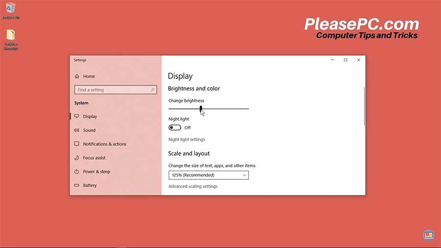 How to Adjust Brightness on Windows 10