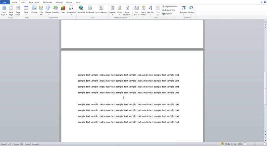 How to Remove a Page Break in Word Documents